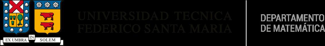 · Departamento de Matemática · Universidad Técnica Federico Santa María
